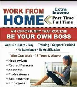 Home job interested for contact please