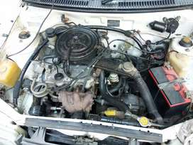 charade(only engine gear and ac)like new like turbo  ac compelet setup