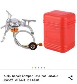 Kompor Gas Lipat Portable Outdoor