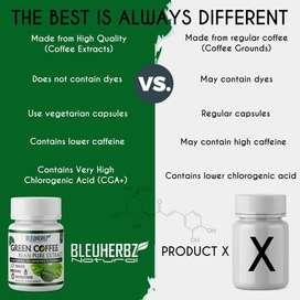 Obat Langsing/Obat Kurus Alami Kopi Hijau Diet/Green Coffee Asli 100%