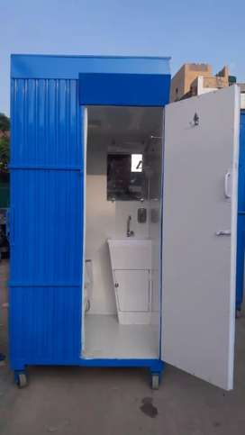 Portable Washrooms Toilets Available on Rent