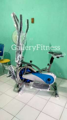 Orbitrek bike biru