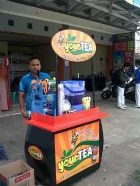 paket franchise bekas YOUR TEA minuman teh lokasi surabaya
