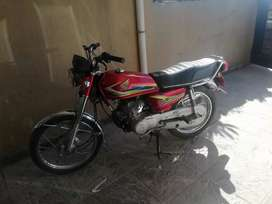 Honda 125 17 model for sale in good condition.