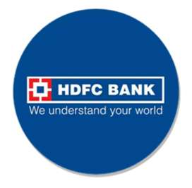 Reception and office staff needs in hdfc onroll jobs male and female