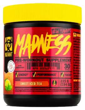 Preworkout mutant madness 30serv