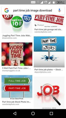 Online part time job for students and housewives