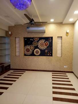 Bahria town Lahore 10 Marla brand new upper portion With 4 AC