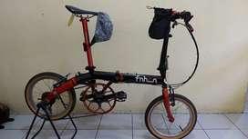 Sepeda Lipat Seken