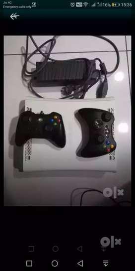 Xbox 360 with two joysticks