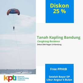 Free Emas 25g;  Kavling Siap Bangun View Kota Bandung, SHM Per Unit