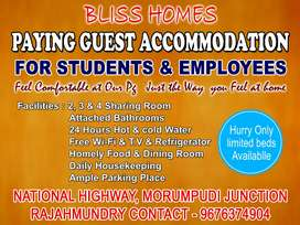 Bliss homes paying guest accommodation