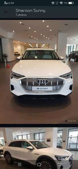 Audi Etron 2020 Freshly Import ,Top of the line with all features .