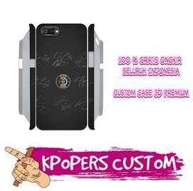 Custom Case 3D / Anticrack KPop murah