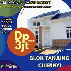 Rumah murah Cileunyi Bandung dekat ke jalan Cinunuk Cibiru Panyileukan