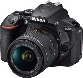 NikonD5600 With two lenses