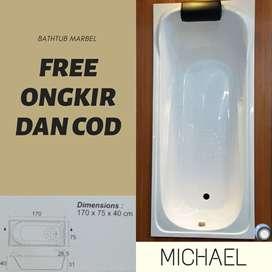 Bathtub Marbel Michael Free Ongkos Kirim Jabodetabek COD