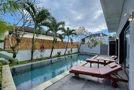 Modern Villa with Ricefield Views in Canggu Area Bali
