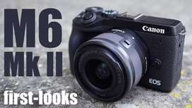 Canon EOS M6 Mark II Mirrorless with 18-150mm Kredit Cepat