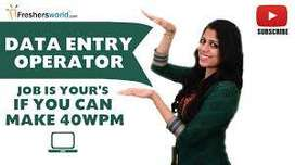 data entry work simple typing in english join now