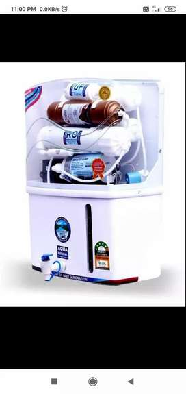 New r.o water purifier with 2 year warranty