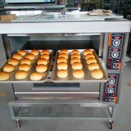 Gas deck oven Bakery Machine Cake Bread Pizza Baking Equipment