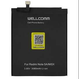 Wellcomm XIAOMI BATTERY BN 31 FOR REDMI NOTE 5A MI5X DOUBLE IC