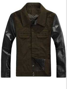 Jaket  Comby Green Black Army Style