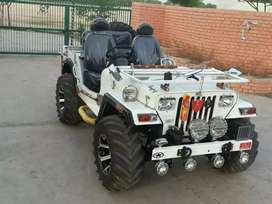 Modified open Jeep available