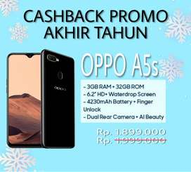 Promo akhir tahun Oppo A5s Chas/Kredit