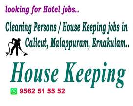 House Keeping and Cleaning Persons