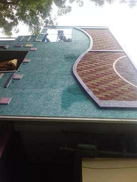 2 floors of house