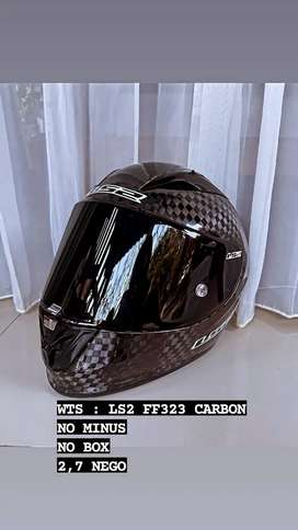 WTS : LS2 FF323 FULL CARBON 2nd like new