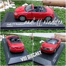 Diecast Miniatur Audi TT Roadster