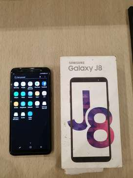 Samsung Galaxy J8 3/32 Black Fullset