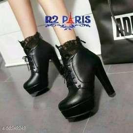 Sepatu sandal boots high heels