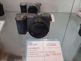 Sony Mirrorless ILCE-6000L Cicilan Tanpa CC & Gratis 1 Kali Angsuran