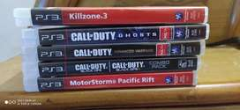 PS3 game call of duty , killzone