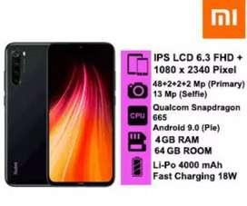 Xiaomi Note 8 Ram 4/64 murah boss