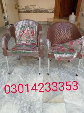 Plastic chairs jumbo size home delivery available