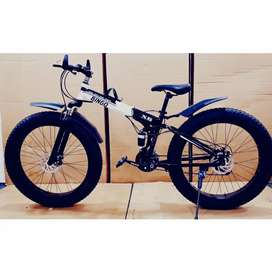 New imported 21 gear fat foldable cycle