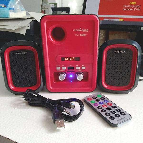 Speaker Advance Duo 200 BT Bluetooth Subwoofer
