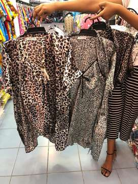 Daster cleopard cantik mewah asli barang bangkok