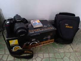 Kamera Nikon D3100 18-55mm VR Kit, bekas, Kualitas terjamin OK