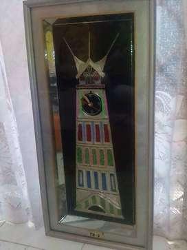 Jam dinding unik dari Bukit Tinggi dijual murah di bandung