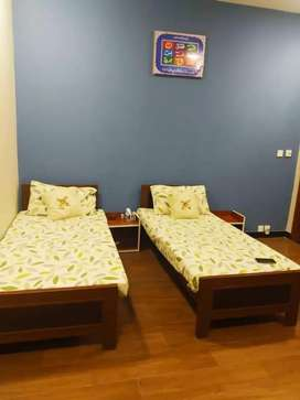 Separate room available in girls hostel in Muslim town