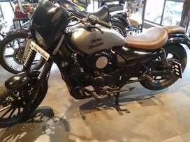 Avenger bike modified convert to Harley 750
