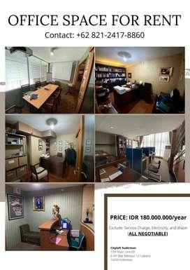 Cityloft Sudirman - OFFICE SPACE FOR RENT