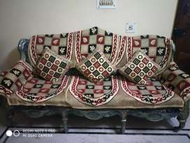 A sofa set with 10 seater