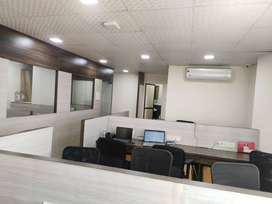 Fully furnished office available for sale